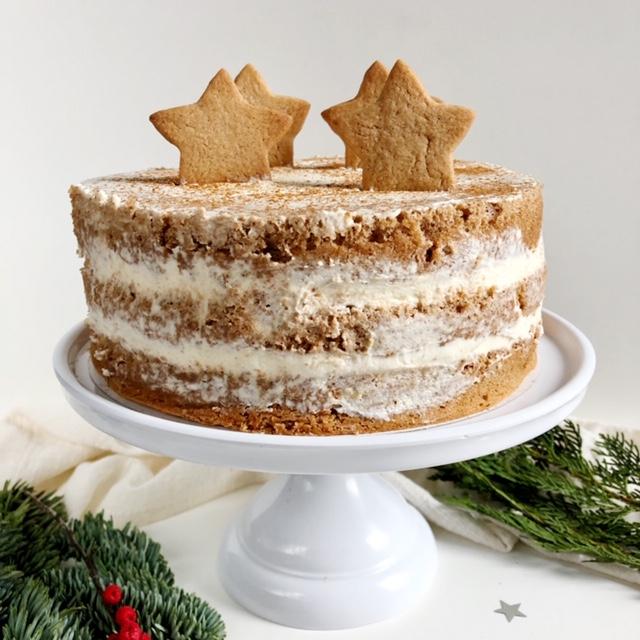 Gingerbread taart