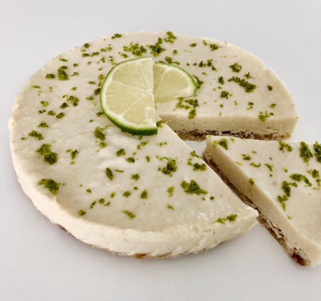 Raw cheesecake met limoen