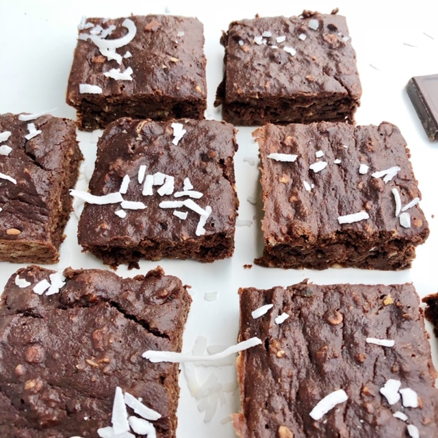 Courgettebrownie