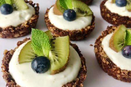 Kokos-limoen ontbijttaartjes