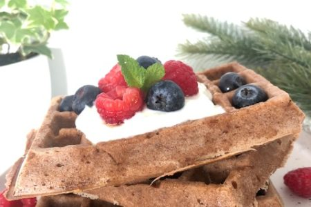 Gingerbread Wafels