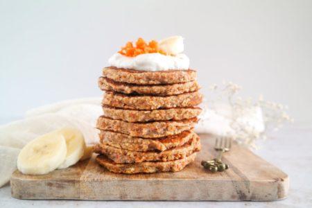 Glutenvrije wortelpannenkoeken