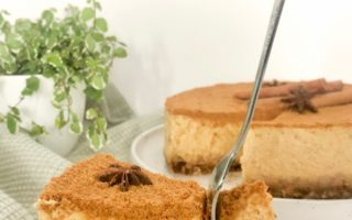 Pumpkinspice cheesecake