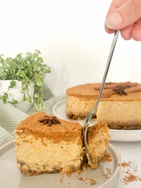 Pumpkinspice Cheesecake