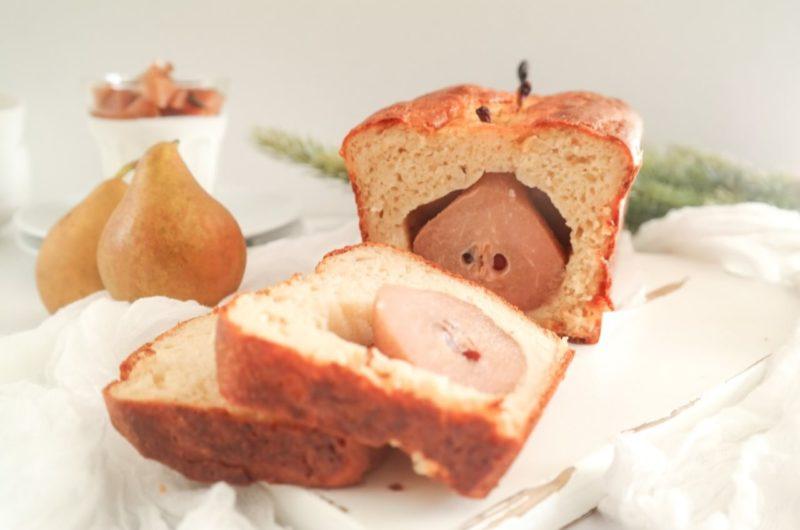 Stoofperen cake