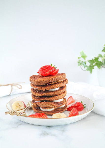 Dalgona Pancakes