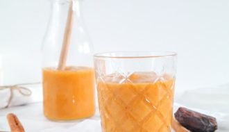 Zoete aardappel smoothie