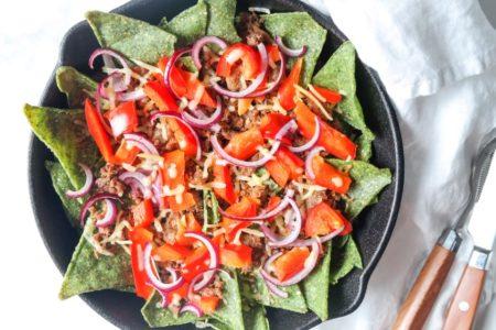 Seaweed nachos