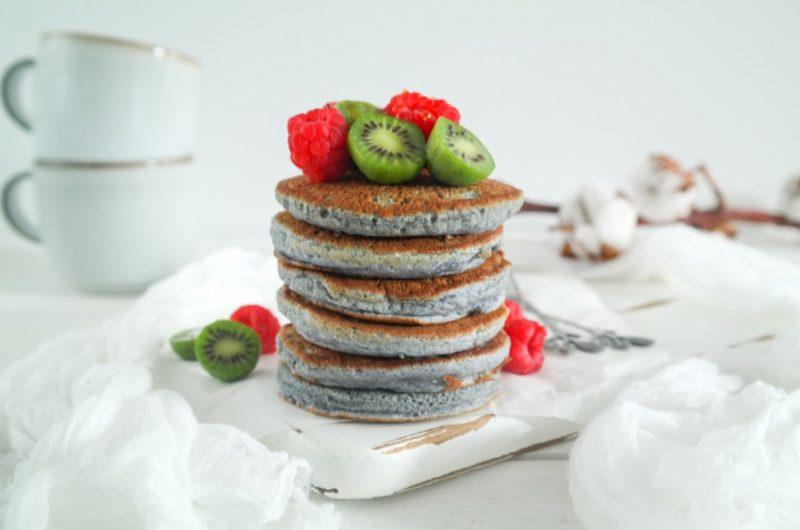 Blue Pancakes