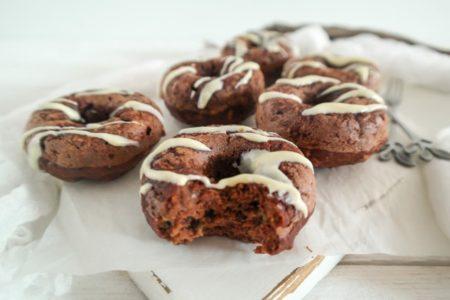 Gezonde chocolade donuts