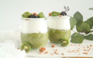 Matcha Chiapudding