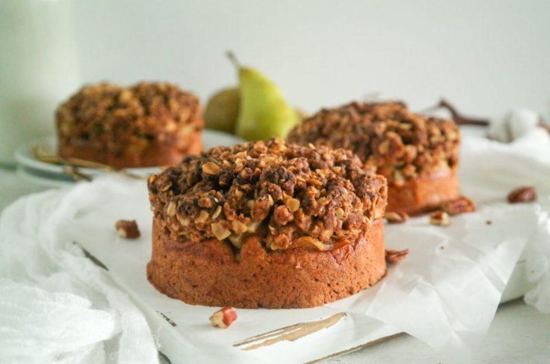 Peren Crumble Cake