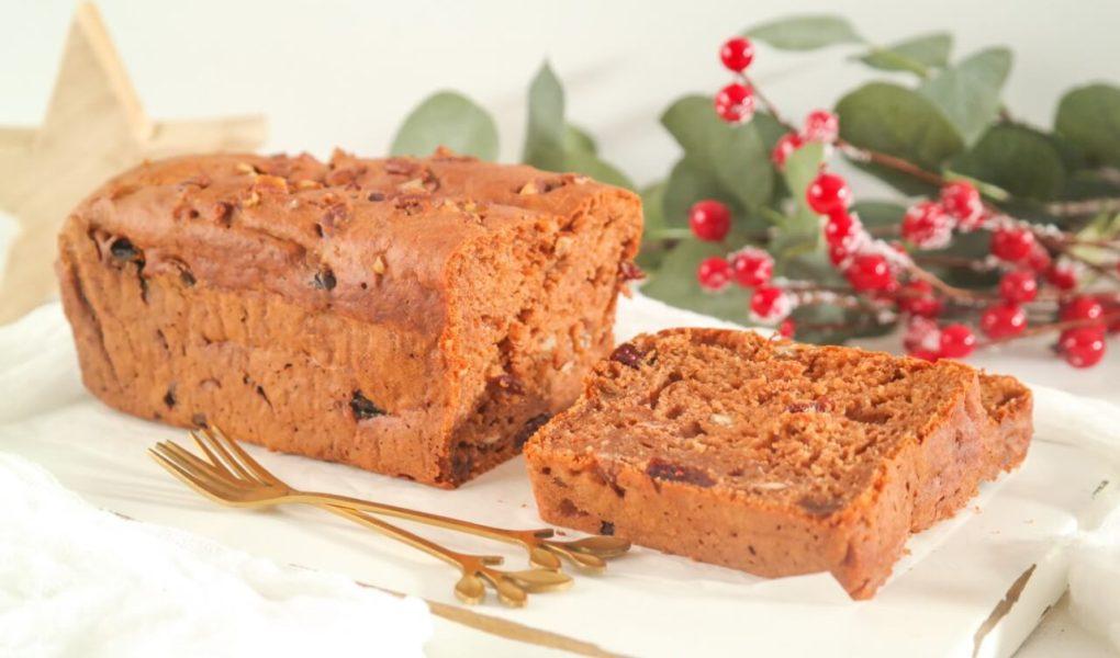 Gezonde kerstcake