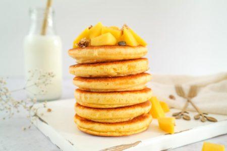 Mango Kokos Pannenkoeken