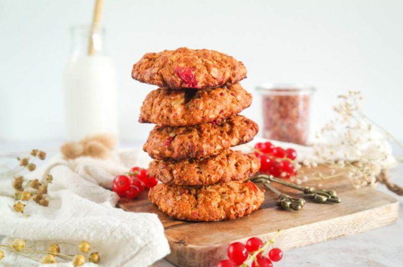 Granola koeken met rode bes