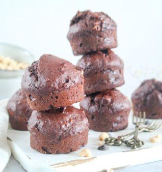 Chocolade Hazelnoot Muffins