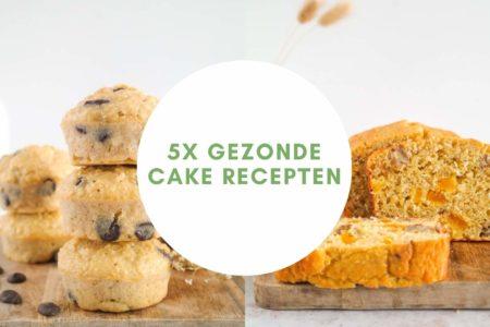 Gezonde cake recepten