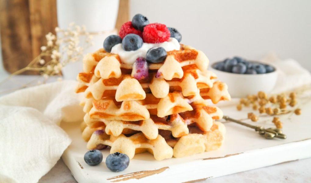Blueberry Wafels